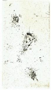 ⑤ヴォルスの線描 出典:『ヴォルス 路上から宇宙へ』展覧会カタログ(p.146より)2017年 株式会社左右社