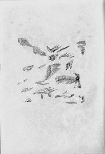 ⑩富松良夫『詩とエッセイ集 黙示』(表紙)1958年 龍舌蘭社